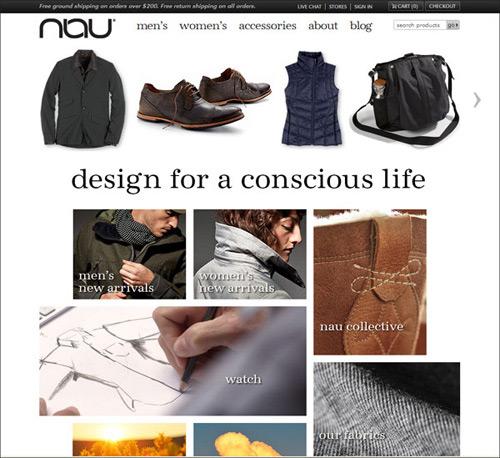 Độc đáo với trang web bán hàng chuyên nghiệp