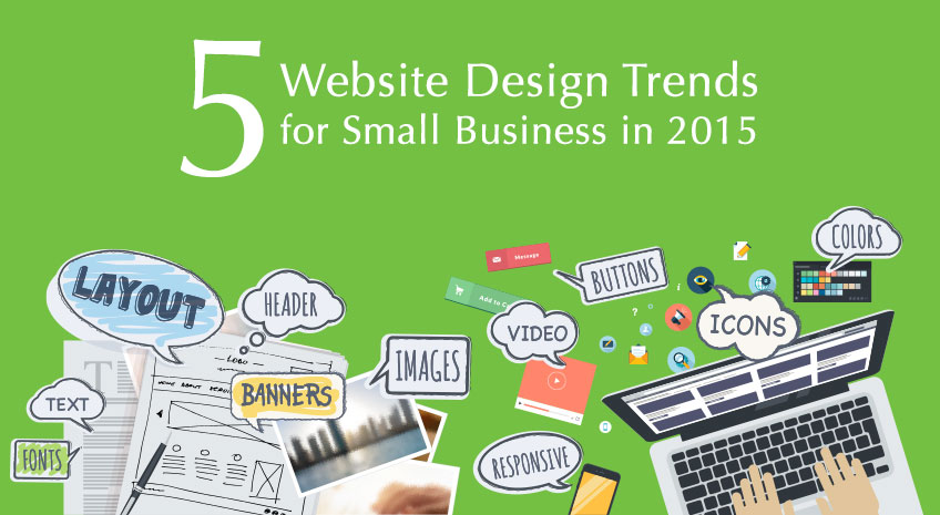 website design trends thiet ke web