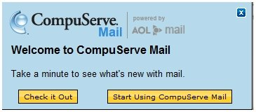 dich vụ email của Compuserve