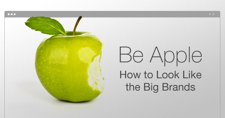 Thiết kế website như thế nào để giống với các thương hiệu nổi tiếng