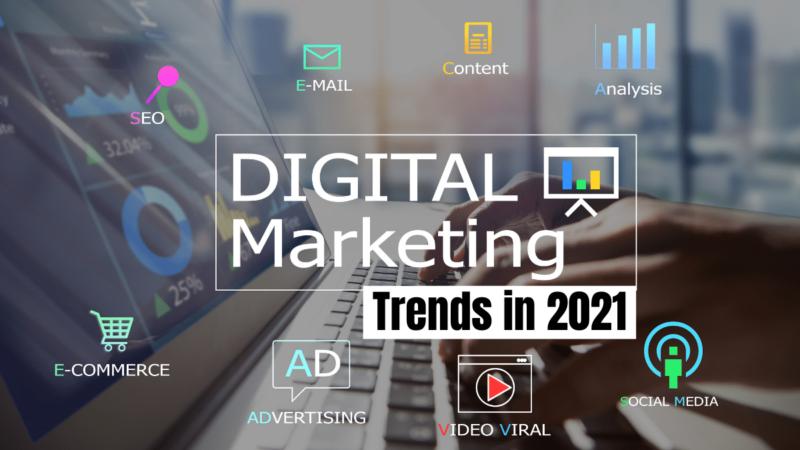 5 xu hướng Digital Marketing hàng đầu năm 2021
