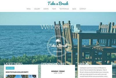 Những mẫu thiết kế website nhà hàng sang trọng, độc đáo