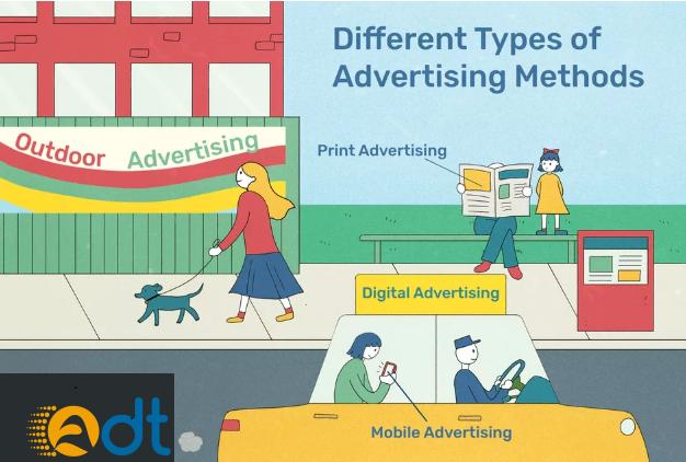 Các hình thức quảng cáo gia tăng khách hàng