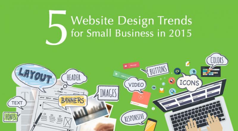 5 xu hướng thiết kế website cho các doanh nghiệp nhỏ trong năm 2015