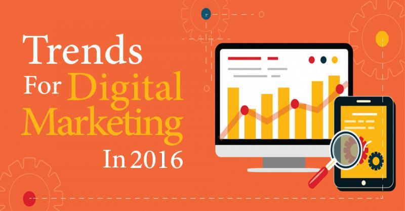 Những hoạt động của digital marketing được dùng nhiều nhất trong năm 2016
