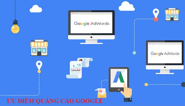 Ưu điểm của quảng cáo google adwords