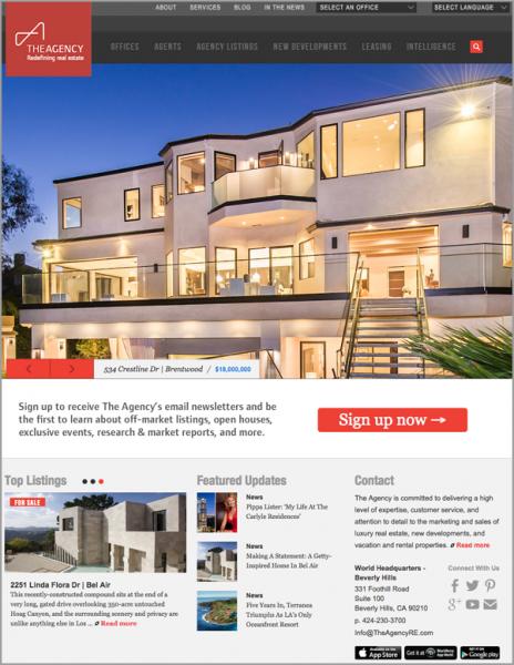 10 Thiết kế website bất động sản đẹp nhất thế giới (P2)