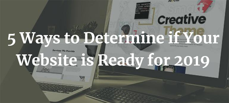 Website của bạn đã sẵn sàng ra mắt trong năm 2019