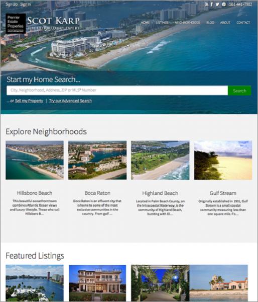 10 Thiết kế website bất động sản đẹp nhất thế giới (P1)