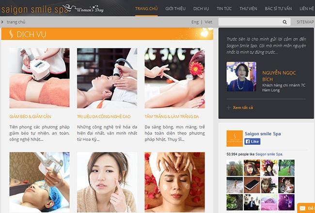 5 tiêu chí thiết kế web mỹ phẩm làm đẹp ấn tượng chuyên nghiệp